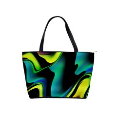 Hot Abstraction With Lines 4 Shoulder Handbags by MoreColorsinLife
