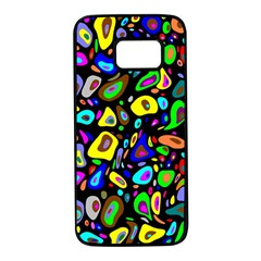 Artwork By Patrick Pattern 30 Samsung Galaxy S7 Black Seamless Case