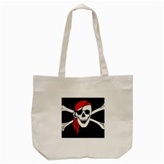 Pirate  Tote Bag (cream) by StarvinArtisan