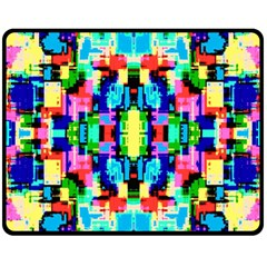 Artwork By Patrick  Colorful 1 Fleece Blanket (medium)  by ArtworkByPatrick
