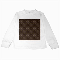 Louis Weim Luxury Dog Attire Kids Long Sleeve T-shirts