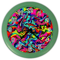 Pattern 34 Color Wall Clocks