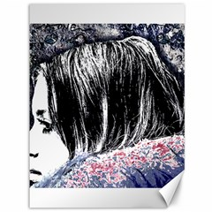 Grunge Graffiti Style Women Poster Canvas 36  X 48   by dflcprints