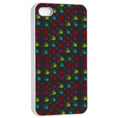 Roses Raining For Love  In Pop Art Apple Iphone 4/4s Seamless Case (white) by pepitasart