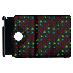 Roses Raining For Love  In Pop Art Apple Ipad 2 Flip 360 Case by pepitasart