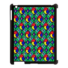 Colorful 4 Apple Ipad 3/4 Case (black) by ArtworkByPatrick