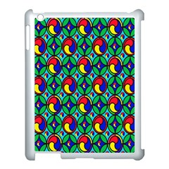 Colorful 4 Apple Ipad 3/4 Case (white) by ArtworkByPatrick