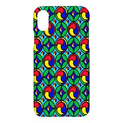 Colorful 4 Apple Iphone X Hardshell Case by ArtworkByPatrick