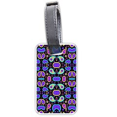 Colorful 5 Luggage Tags (one Side)  by ArtworkByPatrick