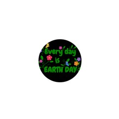 Earth Day 1  Mini Buttons by Valentinaart