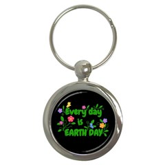Earth Day Key Chains (round)  by Valentinaart
