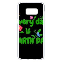 Earth Day Samsung Galaxy S8 Plus White Seamless Case by Valentinaart