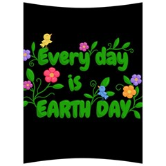 Earth Day Back Support Cushion by Valentinaart