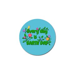 Earth Day Golf Ball Marker by Valentinaart