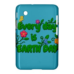 Earth Day Samsung Galaxy Tab 2 (7 ) P3100 Hardshell Case  by Valentinaart
