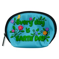 Earth Day Accessory Pouches (medium)  by Valentinaart