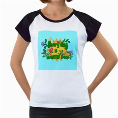 Earth Day Women s Cap Sleeve T by Valentinaart