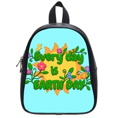 Earth Day School Bag (small)