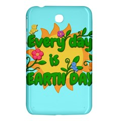 Earth Day Samsung Galaxy Tab 3 (7 ) P3200 Hardshell Case  by Valentinaart