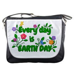 Earth Day Messenger Bags