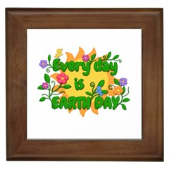 Earth Day Framed Tiles