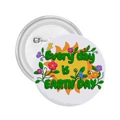 Earth Day 2.25  Buttons
