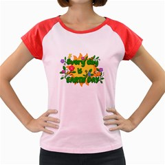 Earth Day Women s Cap Sleeve T-Shirt