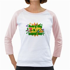 Earth Day Girly Raglans