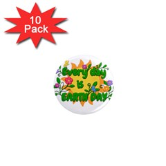 Earth Day 1  Mini Magnet (10 pack)