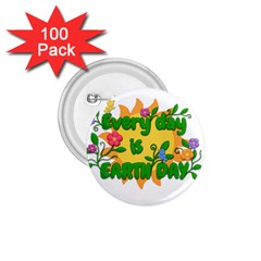 Earth Day 1.75  Buttons (100 pack)