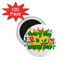 Earth Day 1.75  Magnets (100 pack)