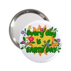 Earth Day 2.25  Handbag Mirrors