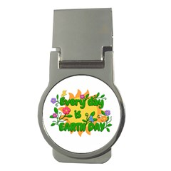 Earth Day Money Clips (Round)