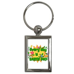 Earth Day Key Chains (Rectangle)