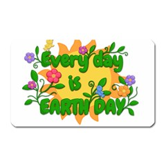 Earth Day Magnet (Rectangular)