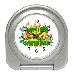 Earth Day Travel Alarm Clocks