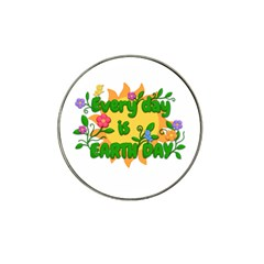 Earth Day Hat Clip Ball Marker (4 pack)