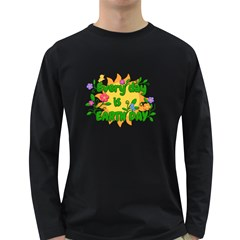 Earth Day Long Sleeve Dark T-Shirts