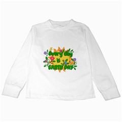 Earth Day Kids Long Sleeve T-Shirts
