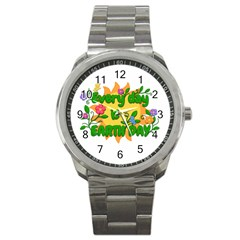Earth Day Sport Metal Watch