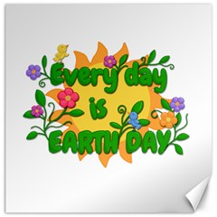 Earth Day Canvas 20  x 20