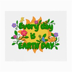 Earth Day Small Glasses Cloth (2-Side)