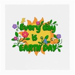 Earth Day Medium Glasses Cloth (2-Side)