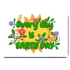 Earth Day Large Doormat