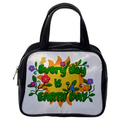 Earth Day Classic Handbags (One Side)