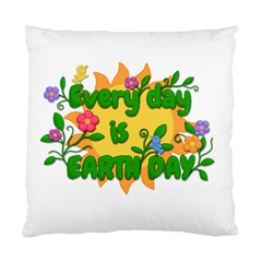 Earth Day Standard Cushion Case (One Side)