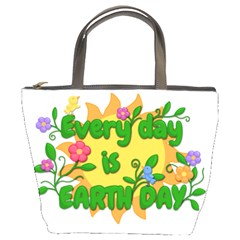 Earth Day Bucket Bags