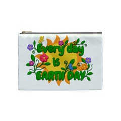 Earth Day Cosmetic Bag (Medium)
