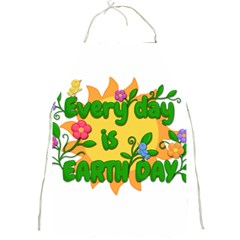 Earth Day Full Print Aprons