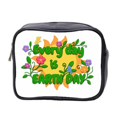 Earth Day Mini Toiletries Bag 2-Side